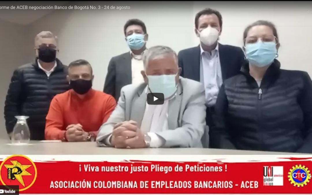 Informe de ACEB negociacion Banco de Bogota a fecha 24 de Agosto 2021